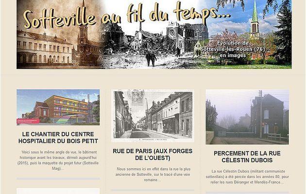 """Un nouveau blog : """"Sotteville au fil du temps..."""""""
