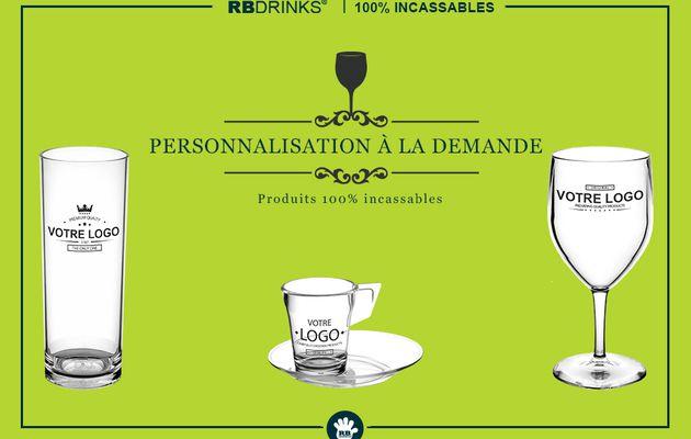 Personnalisez vos Verres & Vaisselle avec RBDRINKS!