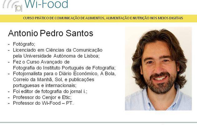 Antonio Pedro Santos - Prof. Wi-Food - PT.