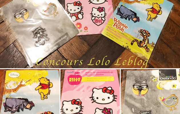 Concours Lot Thermocollants