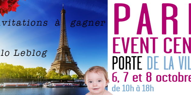 Le Salon Baby ( invitations à gagner )