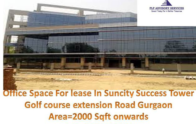 Commercial office space for rent in suncity success tower gurgaon:9873498205