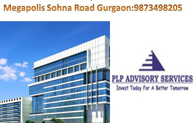 Pre leased office space for sale in Universal business park golf course extension road Gurgaon:9873498205