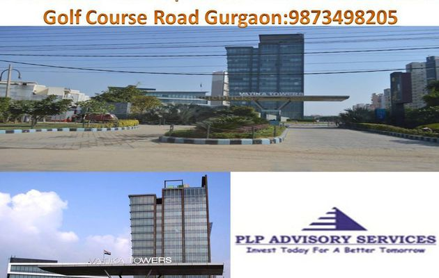 Pre Leased office space for sale in Vatika towers Golf course road Gurgaon:9873498205