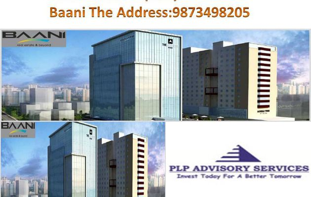Pre Leased office space for sale in Baani the address leased out to MNC for sale