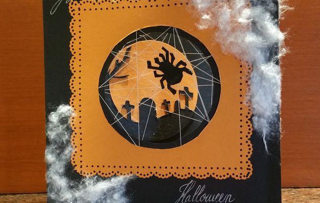 Carte Spécial Halloween - Tutoriel