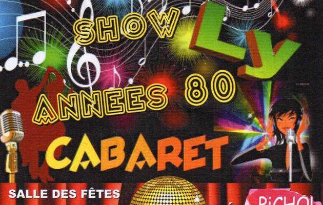 Spectacle Family Cabaret à Aubigné Racan