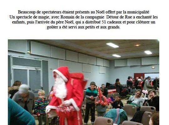 Noël à Saint-Pierre-de-Chevillé