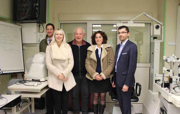 Ouverture d'une consultation d'ophtalmologie