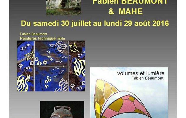 Exposition au Moulin Pousset