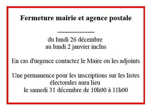 Info Commune de Saint-Pierre-de-Chevillé