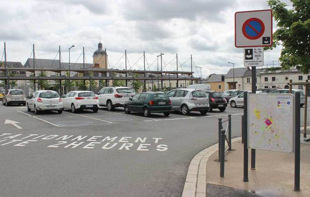 501 places de parking en centre-ville