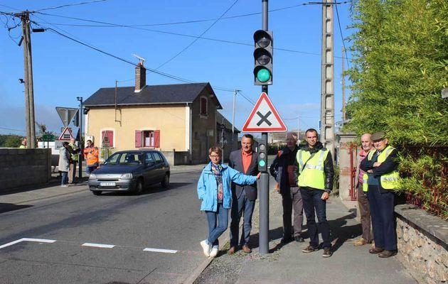 Attention, ralentir dans la rue du Val de Loir