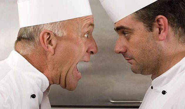 ¡Si Chef! ¡Pero no me grite, Chef! del Chef Merlín Gessen Pantin