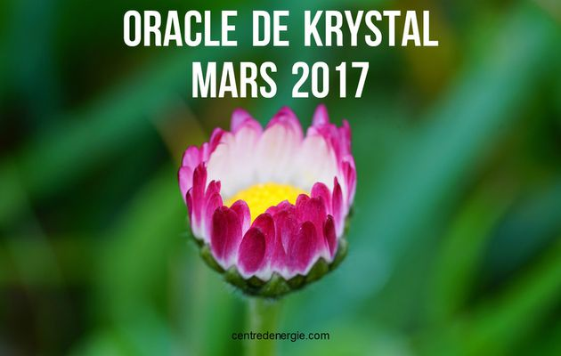 Guidance Oracle de Krystal Mars 2017