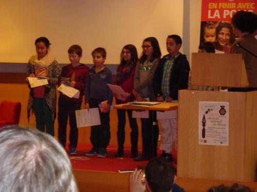 Blois : une dictée contre l'illétrisme
