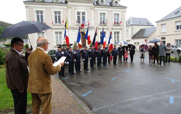 La Chartre : célébration de la Journée de la Déportation