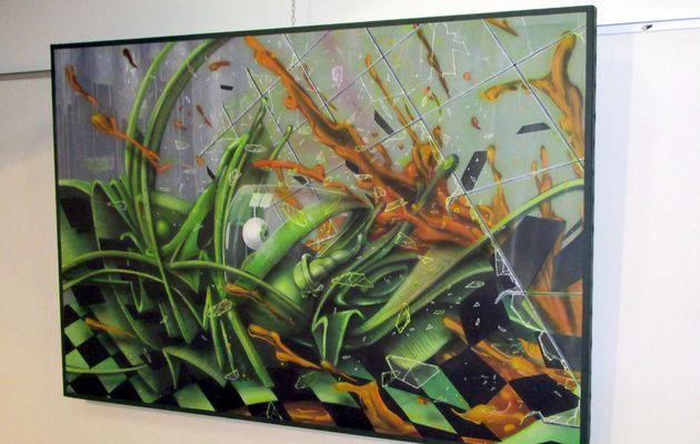 """Montoire : L'exposition """"Graff"""" prolongée à la Médiathèque"""