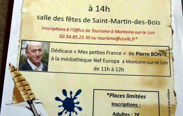Saint-Martin-des-Bois rencontre avec Pierre Bonte autour d'une diictée