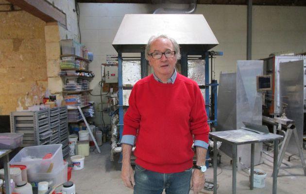 Gérard Torcheux, le talentueux verrier a pris sa retraite