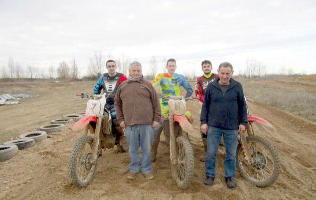 Couture-sur-Loir : le terrain de moto-cross de la Varenne de Chevelu
