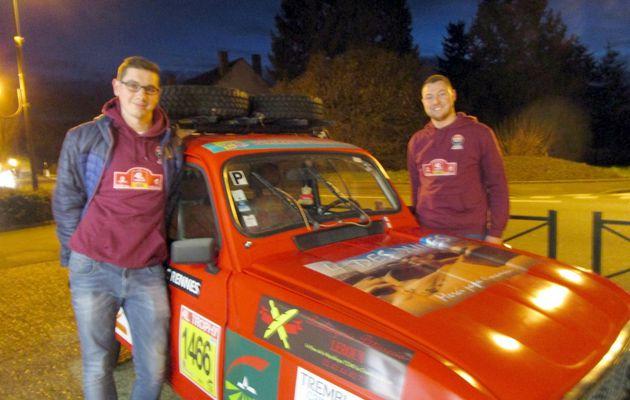 La Chartre. 4 L Trophy : l'équipe chartraine a reçu ses sponsors
