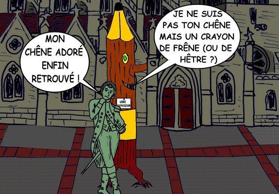 NAPOLÉON ET LE CRAYON (1) - du 20 JANVIER 2015 (J+2225 après le vote négatif fondateur)