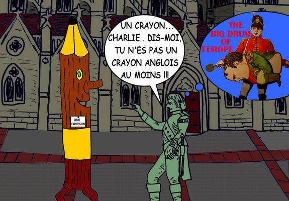 NAPOLÉON ET LE CRAYON (3) - du 22 JANVIER 2015 (J+2227 après le vote négatif fondateur)