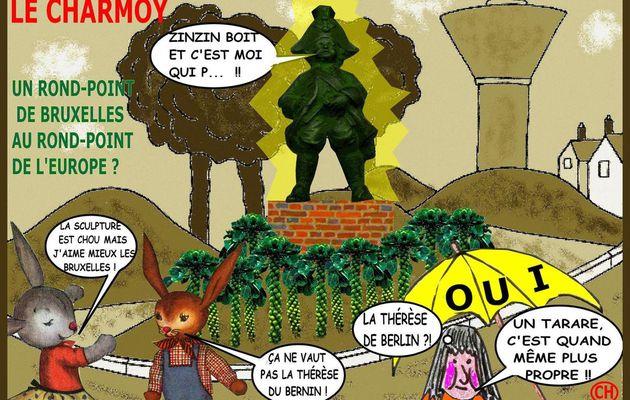 POUR UN ROND-POINT DE BRUXELLES AU CHARMOY - du 20 NOVEMBRE 2015 (J+2529 après le vote négatif fondateur)