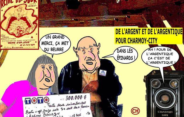 DE L'ARGENT ET DE L'ARGENTIQUE POUR CHARMOY-CITY- du 19 mai 2017 (J+3075 après le vote négatif fondateur)
