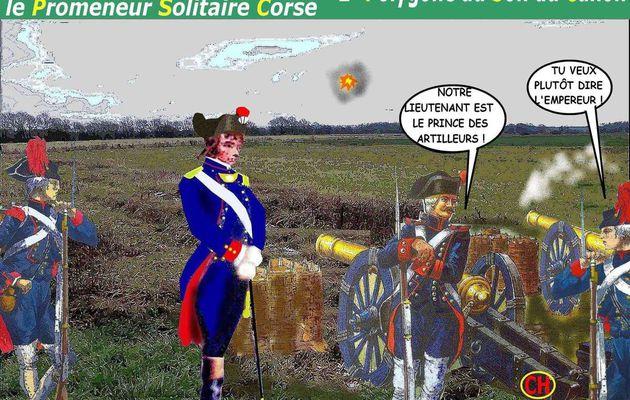 BONAPARTE À AUXONNE ou le Promeneur Solitaire Corse (2) - du 30 août 2017 (J+3178 après le vote négatif fondateur)