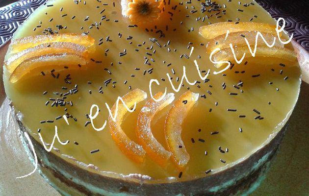 Entremêt Chocolat / Orange