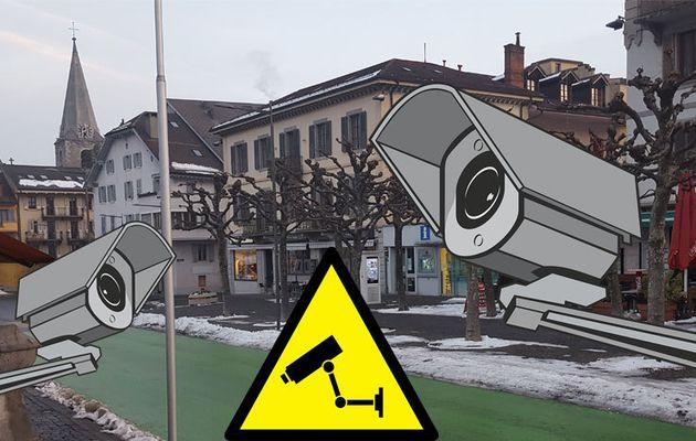 Vidéosurveillance : la ville de Monthey n'est toujours pas en règle !