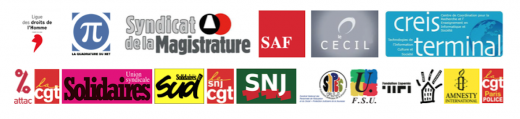 Projet de loi renseignement: Rassemblement à l'appel de 18 organisations syndicales