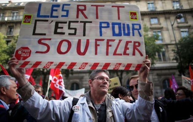 Hôpitaux de Paris: la CGT dénonce un protocole de trahison