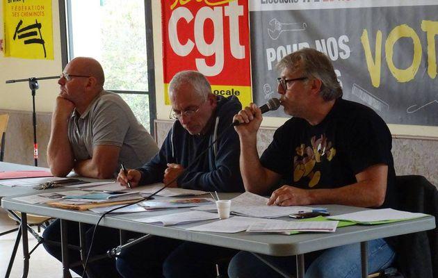 Audience solennelle de rentrée des Prud'hommes du Havre -discours à l'offensive pour Philippe Lebourg Président CGT