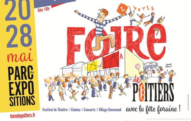La campagne de la Foire de Poitiers 2017 par Laurent Audouin