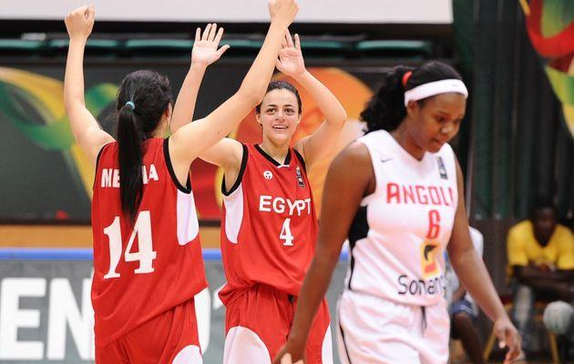 Afrobasket Women: l'Egypte fait chuter l'Angola