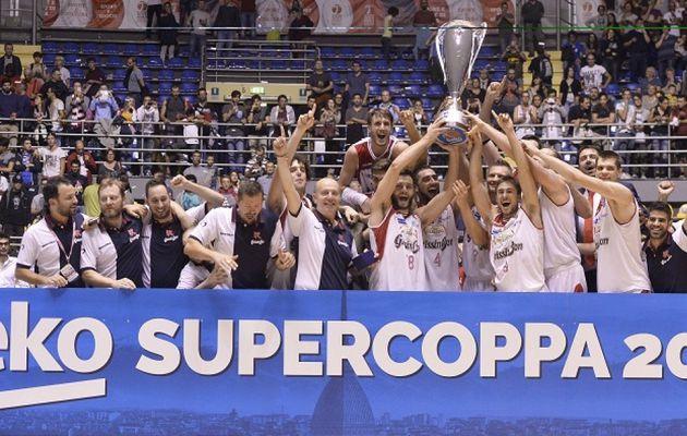 Reggio Emilia remporte la Supercoupe d'Italie