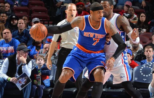 Les Knicks dominent les Sixers