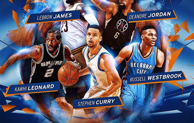 Stephen Curry élu à l'unanimité dans le meilleur cinq de la saison