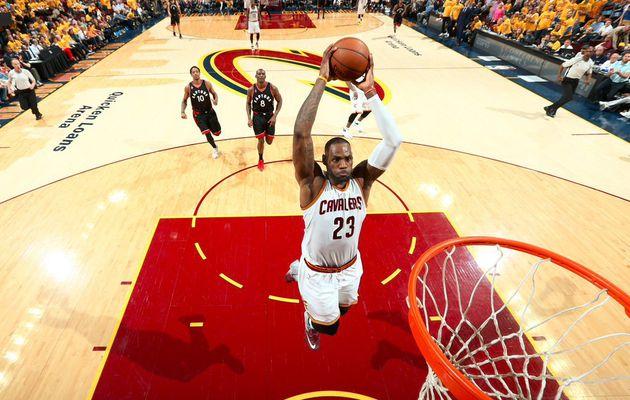 Finale de Conférence Est, match 5: Cleveland cartonne face aux Raptors