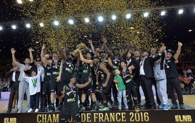 Pro A : L'Asvel Villeurbanne championne de France