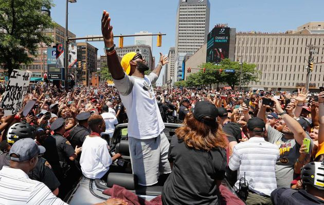 LeBron James n'a pas l'intention de quitter Cleveland