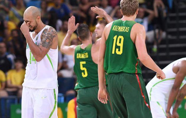 JO : La Lituanie résiste à l'incroyable retour du Brésil