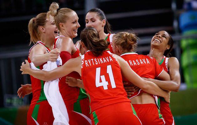 JO : La Biélorussie remonte un déficit de 18 points pour battre le Brésil