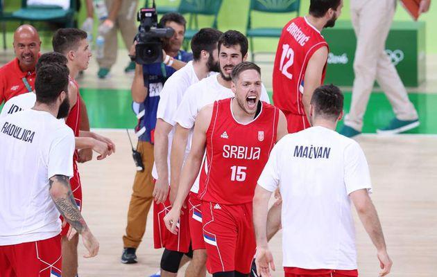 Finale olympique : Les Serbes très motivés, prêts à donner du fil à retordre aux États-Unis