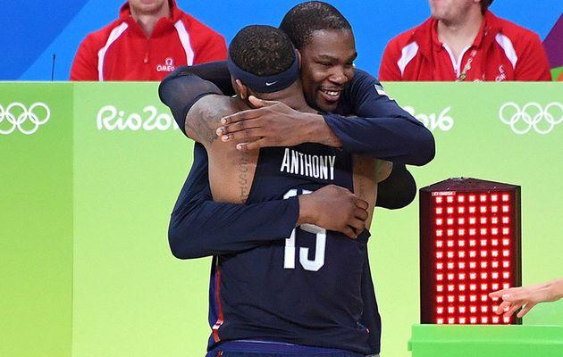 """Kevin Durant : """" J'aimerais dépasser Carmelo Anthony """""""