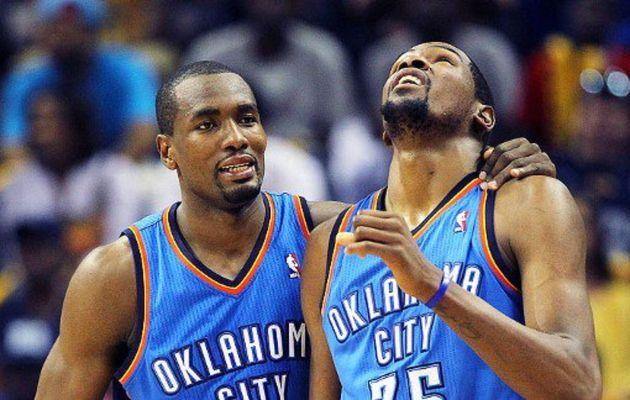 """Serge Ibaka : """"Bien sûr, j'été surpris par la décision de Kevin Durant"""""""