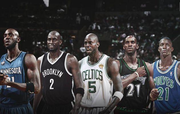 Le monde de la NBA rend hommage à Kevin Garnett